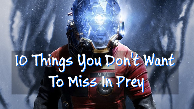 10 Things You Don't Want To Miss In Prey