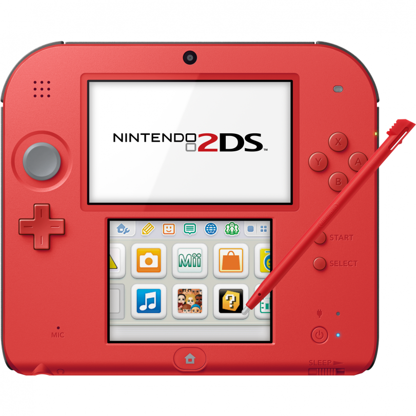 Nintendo 2DS (Nintendo Refurbished) – $49.99 (34% off)