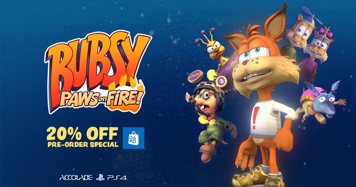 Bubsy: Paws on Fire and the Top 10 Failed Gaming Mascots