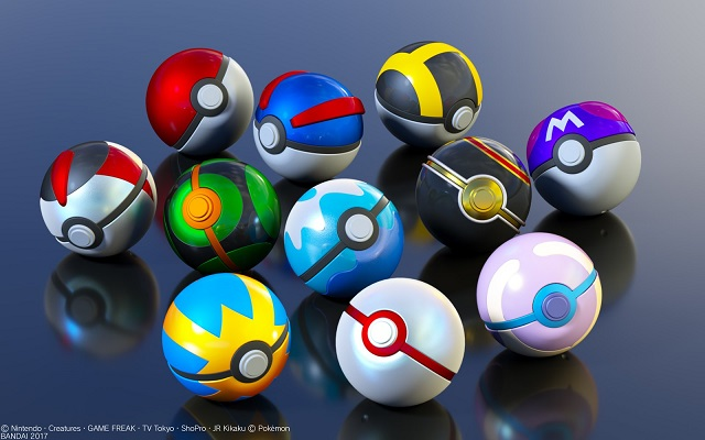 Alternate Pokeballs