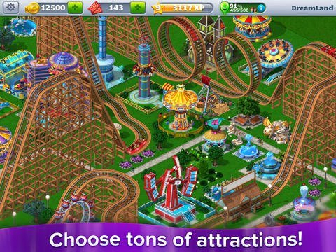 RollerCoaster Tycoon 4 Mobile Archives - GameRevolution